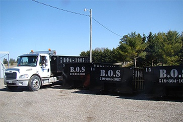 Commercial Waste Management by BOS Services Inc. - Waste Recycling Kitchener