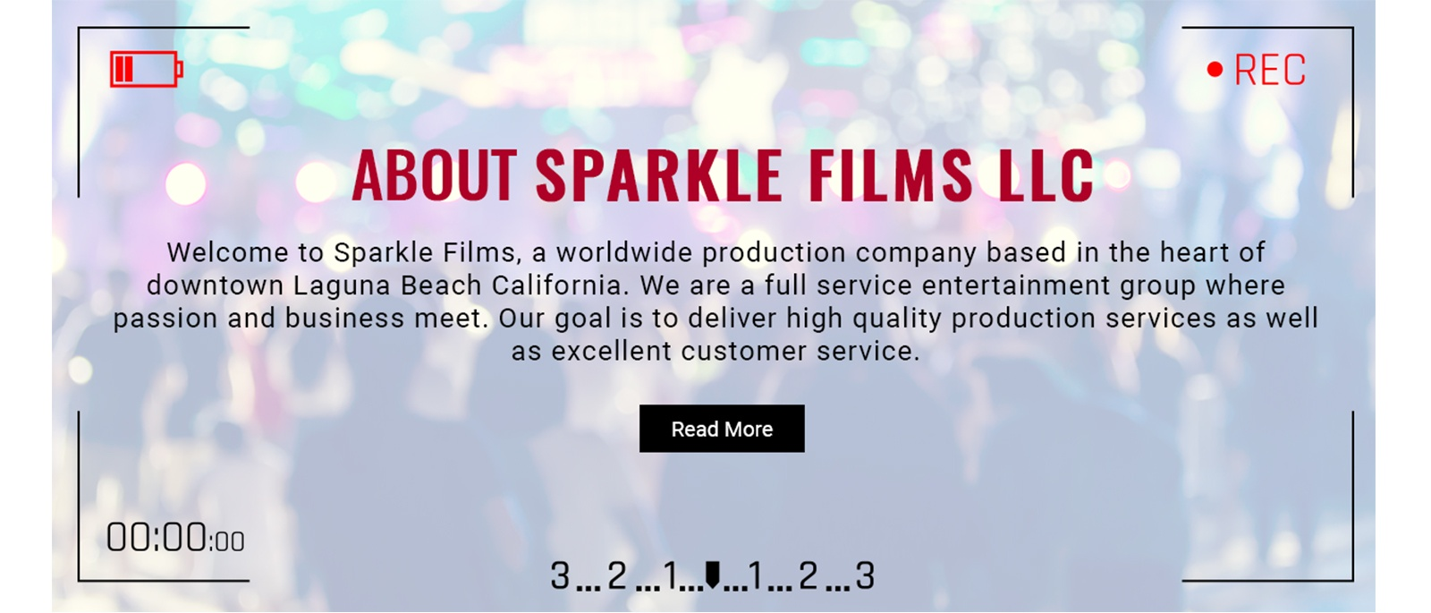 About Sparkle Films LLC - Video Production Company Orange County by Sparkle Films LLC