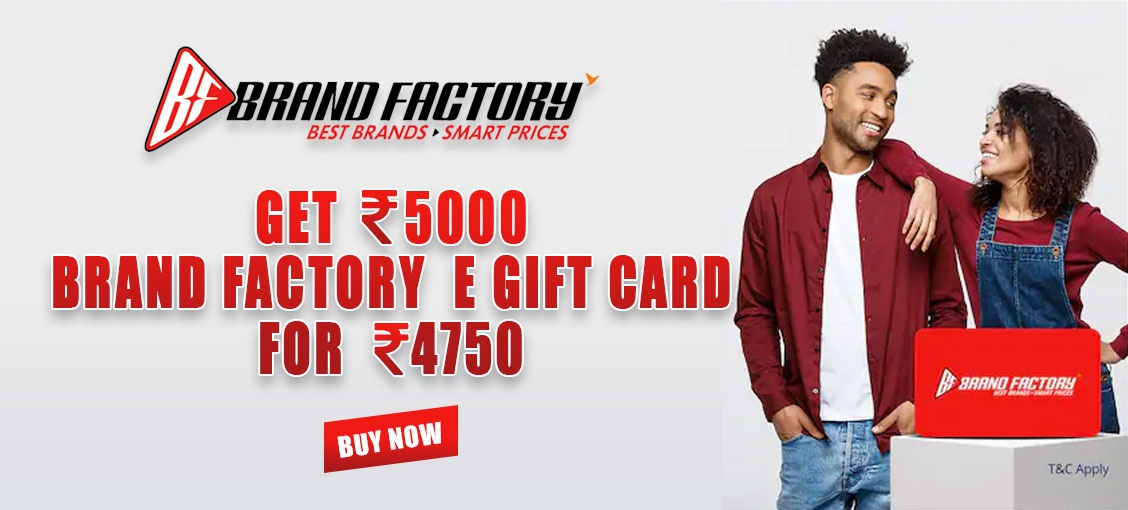 Brand Factory E-gift card