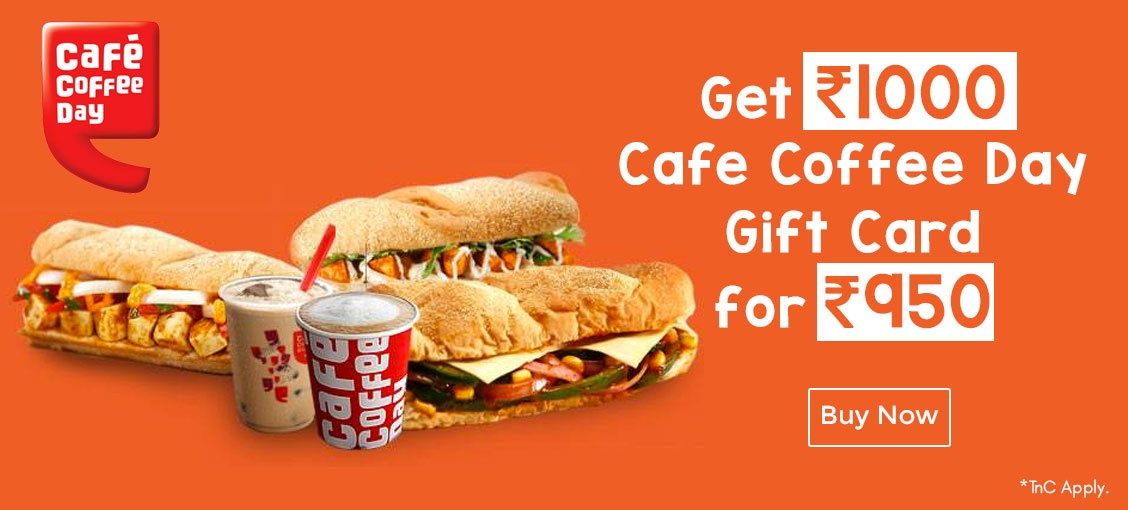Cafe Coffee Day E-gift card